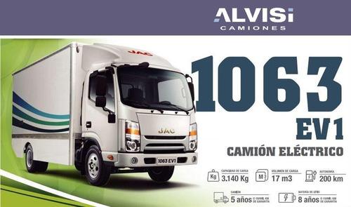 Jac 1063 S1063 Ev1 Camión Eléctrico Con Furgón Precio Cif