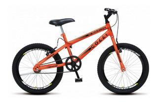 Bicicleta Aro 20 Max Boy Colli - Laranja