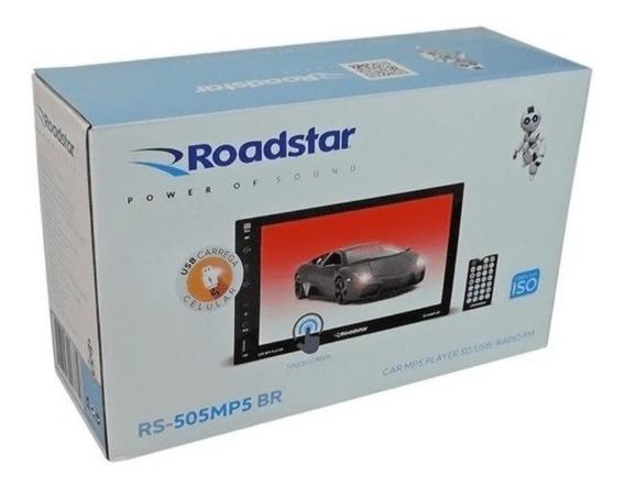 Multimídia Roadstar Mp5 - Rs-505mp5br