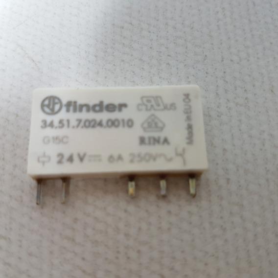 Relé Eletromecânico Circuito Impresso Finder34.51.7.024.0010