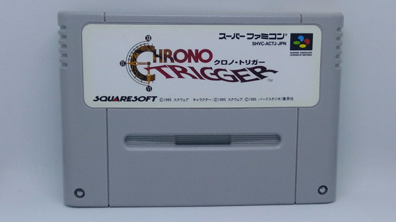 Chrono Trigger - Super Famicom - Original Japonês