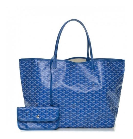 Bolsa Goyard Goyardine Saint Louis Couro Legítimo Premium Top Com Código Série Acompanha Pochete E Dust Bag Envio 24 Hr