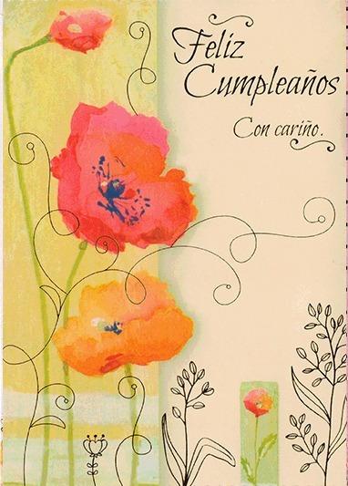 Tarjeta De Feliz Cumpleaños Con Sobre Para Regalo