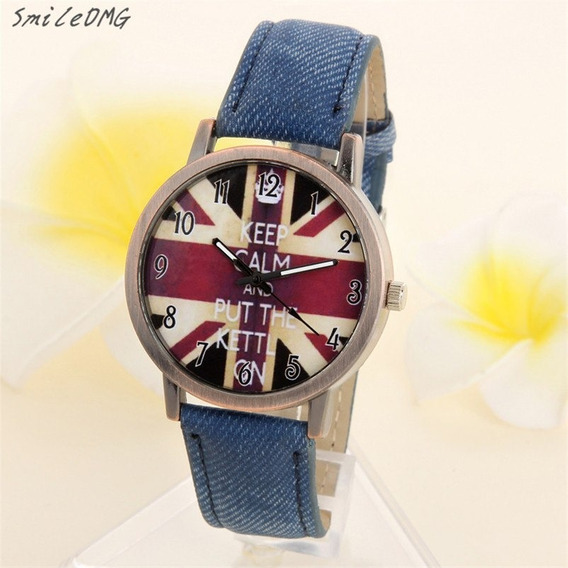 Relógio - Bandeira Britânica - Inglaterra