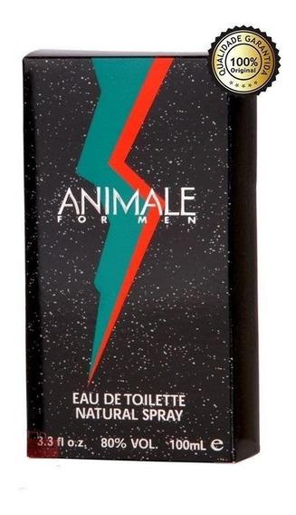 Pefume Colonia Animale For Men 100ml Original Lacrado