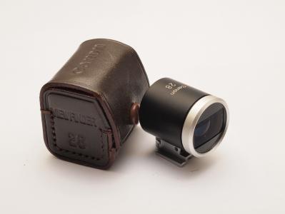 Case De Couro Original Canon Para Visor 28mm Peça Rara