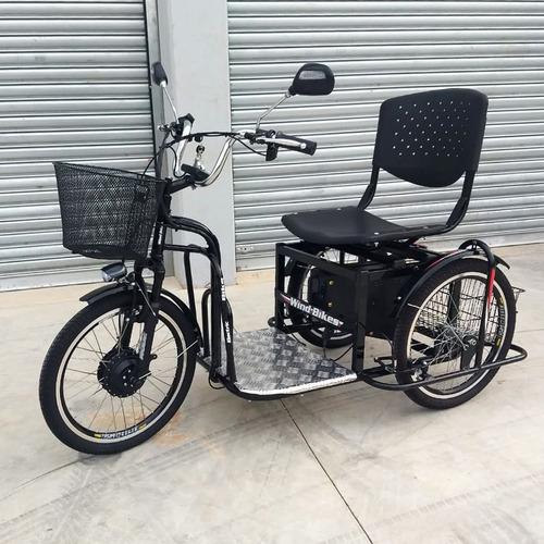 Triciclo Elétrico Advanced 350 W 36 V 15ah Básico Wind Bikes