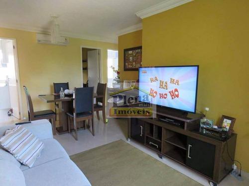 Imagem 1 de 9 de Apartamento Residencial À Venda, Parque Villa Flores, Sumaré. - Ap0715