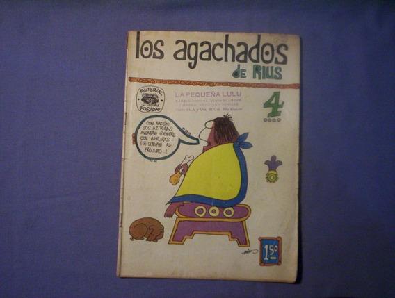 Los Agachados De Rius # 4 Editorial Posada Año 1968