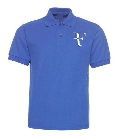 Playera Tipo Polo Rf Roger Federer Perfect