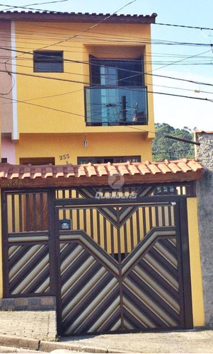 Imagem 1 de 25 de Sobrado Com 3 Dormitórios À Venda, 125 M² Por R$ 480.000,00 - Vila Emílio - Mauá/sp - So0015