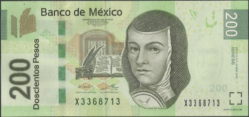 Mexico, 200 Pesos 13 May 2015 Serie Be P125l