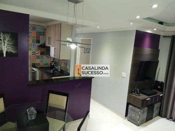 Apartamento Com 2 Dormitórios Para Alugar, 47 M² Por R$ 1.500/mês - Vila Carrão - São Paulo/sp - Ap5976