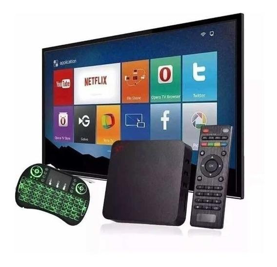 Conversor Smart Tv 3gb Ram 16gb E Teclado