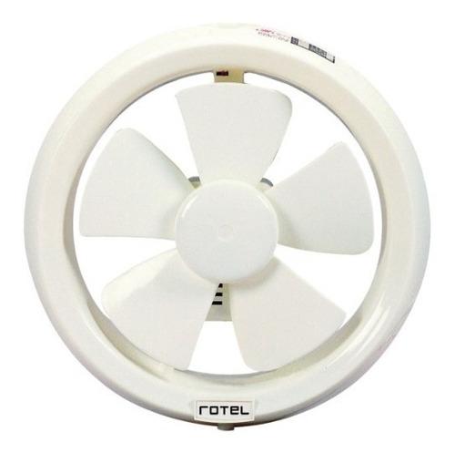 Extractor Aire Rotel C/tapa Para Baño 8 Pulgadas 1 Año Gtía