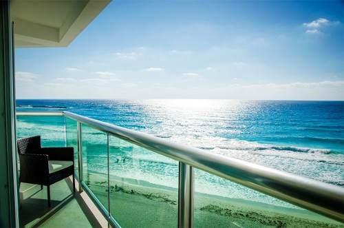 ¡exclusivo Depto Frente Al Mar En Lujoso Condo-hotel !