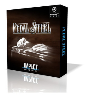 Librería Guitarra Slide: Pedal Steel Para Kontakt