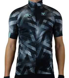 Camisa Ciclismo Masculino Free Force Harsh Preto