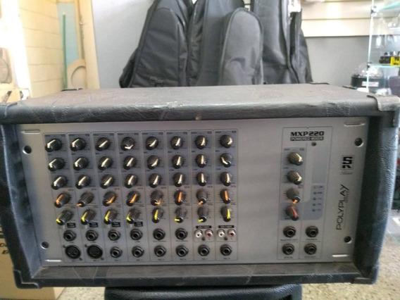 Mixer Cabeçote Staner Mpx220 Polyplay!!preço De Queimão!!!!!