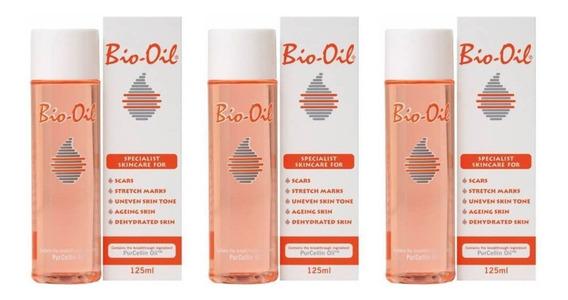 Bio Oil Óleo Corporal 125ml (kit C/03)