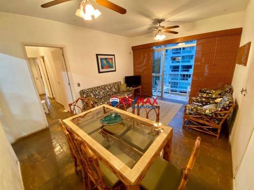 Imagem 1 de 28 de Apartamento Com 3 Dormitórios, 2 Vagas E Lazer À Venda, 90 M² Por R$ 450.000 - Praia Das Pitangueiras - Guarujá/sp - Ap3199