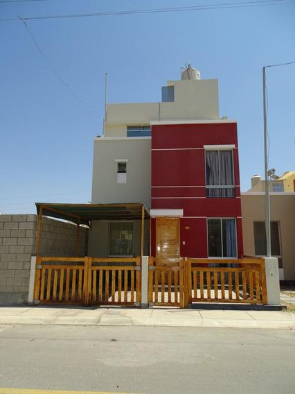 Vendo Linda Casa De 3 Pisos En Ica - Condominio Villa Club