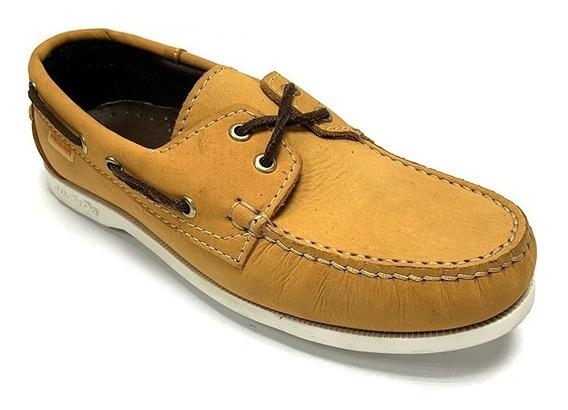 Zapatos Nauticos Pielsa Caballero Marrón Pi 0008 Corpez 44
