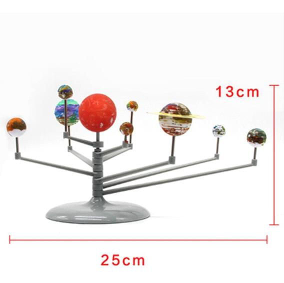 Sistema Solar Planetário Modelo Crianças Kit De Ciências