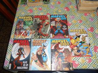 Hq Marvel 2000 Do Numero 1 Ao 7. Coleção Completa.