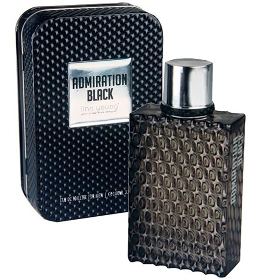 Perfume Admiration Black Men 100 Ml Linn Young - Selo Adipec