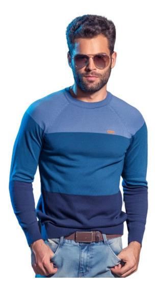 Suéter Blusão Masculino Rockler Tricô Inverno Manga Longa