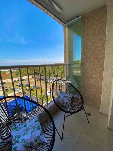 Apartamento À Venda, 85 M² Por R$ 495.000,00 - Condomínio Edifício Dreams Residencial - Paulínia/sp - Ap0603