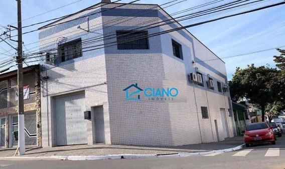 Galpão Para Alugar, 380 M² Por R$ 7.000/mês - Mooca - São Paulo/sp - Ga0259