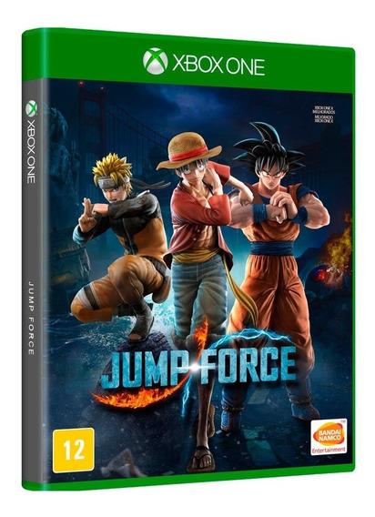 Jogo Jump Force - Xbox One - Novo - Mídia Física - Original