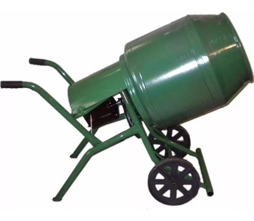 Hormigonera Reforzada Rombo 130 Litros Motor 1 Hp