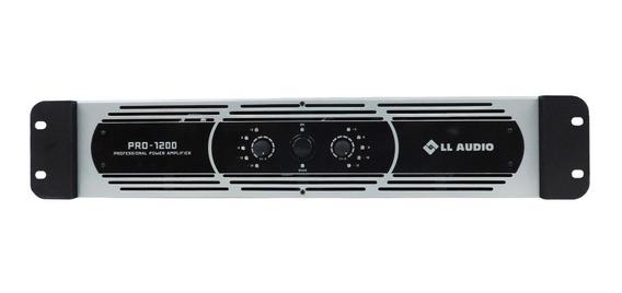 Amplificador Ll Áudio Pro 1200 2x150w Rms 4r