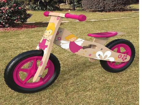 Bicicleta Madera Niña