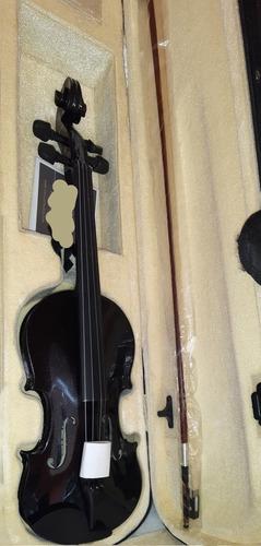 Violin 4/4 Negro Mendini By Cecilio