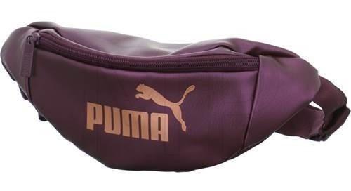 Cangurera Puma Deportiva Bolsa Gimnasio Moda Fit Guinda