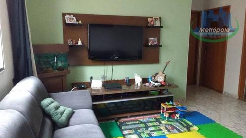 Apartamento Com 2 Dormitórios À Venda, 50 M² Por R$ 235.000 - Jardim Terezópolis - Guarulhos/sp - Ap0823