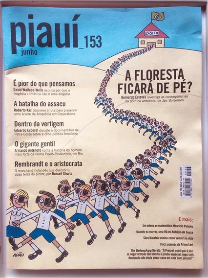 Revista Piauí #153 - A Floresta Ficará De Pé?