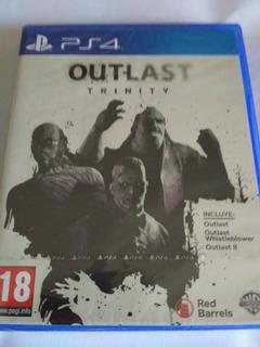 Outlast Trinty Ps4, Nuevo Sellado Envio Gratis