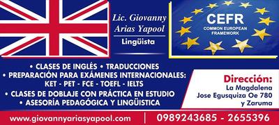 Clases De Inglés A Domicilio Profesor Lingüista Licenciado