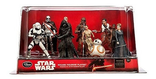 Juguete Disney Store Star Wars Deluxe Set De 10 Piezas Esta