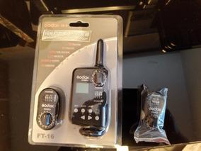 Kit Rádio Controle Para Flash Godox Ft-16