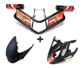 Slider Motor + Protetor Tanque + Bico De Pato Cb300r