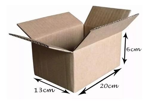 50 Caixas De Papelão Correios Pac Sedex Envios 20x13x6