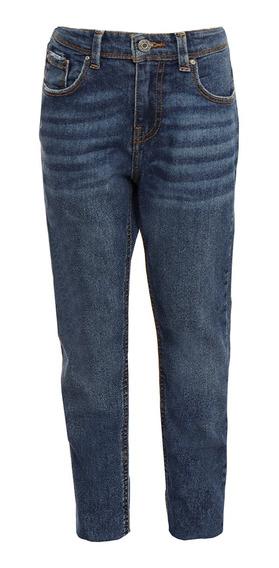 Jeans Corte Slim De Niños C&a Stretch Básicos