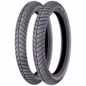 02-pneus (90/90-18)+(2.75-18) City Pro Michelin 04274/006143