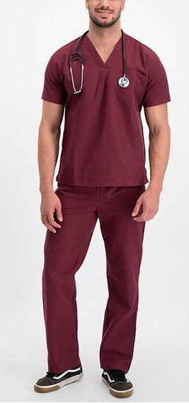 Pijama Quirúrgica Básica Para Caballero- Filipina Y Pantalón
